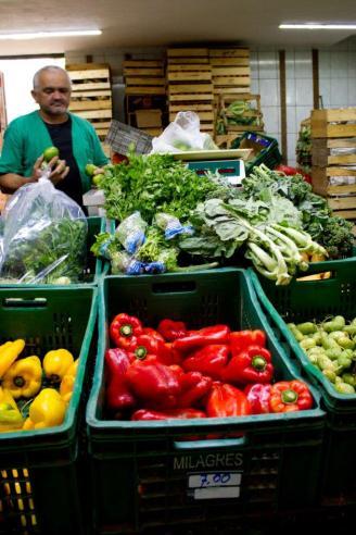 Cadeg - Vendedor de legumes e verduras